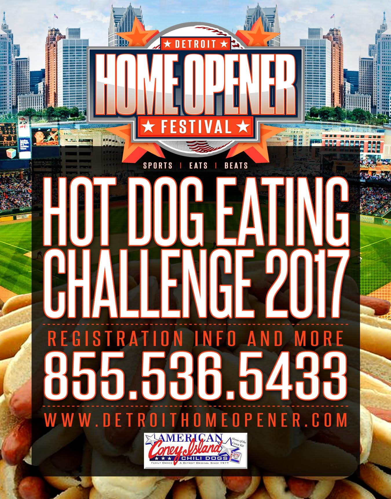 Are you a hotdog eating champion? Take the Challenge!